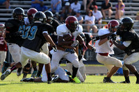Harnett Central and Overhills at Smithfield-Selma Scrimmage - 8/12/2013